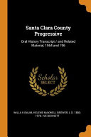 Santa Clara County Progressive