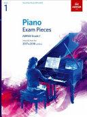 Piano Exam Pieces 2017   2018