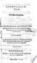 Tartarus Hypochondriorum  Das ist  Natur gem     K  nstliche Beschreibung der Tartar Kranckheit