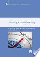 Leadership in der Lehrerbildung