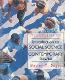 Introduction to Social Science and Contemporary Issues