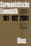 Theoretische und praktische Probleme der Lexikographie