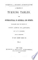 A Treatise on Turning Tables
