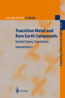 Transition Metal and Rare Earth Compounds