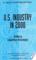 U.S. Industry in 2000:
