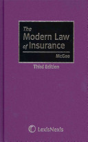 The Modern Law of Insurance
