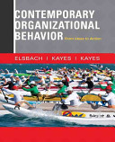 Contemporary Organizational Behavior