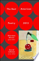 The Best American Poetry 2015 : for the paperback printing....