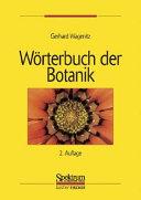 W  rterbuch der Botanik