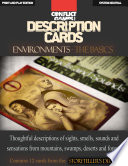 Description Cards   Storytellers Deck   Environments excerpt    Creative Inspiration for Writers  Storytellers and GMs