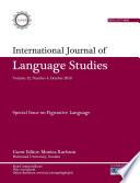 International Journal Of Language Studies Ijls Volume 12 4