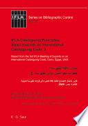 IFLA Cataloguing Principles: Steps towards an International Cataloguing Code, 3