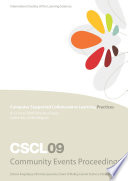 Proceedings of the 9th International Conference on Computer Supported Collaborative Learning