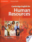 Cambridge English for Human Resources Student's Book with Audio CDs (2) Free download PDF and Read online