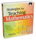 download ebook strategies for teaching mathematics pdf epub