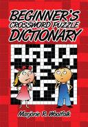 Beginner s Crossword Puzzle Dictionary