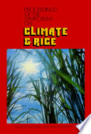 Proceesings Of The Symposium On Climate Rice book