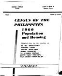 Census of the Philippines, 1960