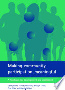 Making Community Participation Meaningful