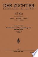 Genetisch-pflanzenzüchterische Bibliographie 1939–1946(1947)