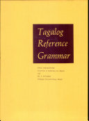 Tagalog Reference Grammar