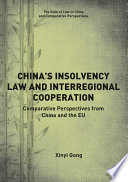 China   s Insolvency Law and Interregional Cooperation