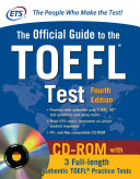 Official Guide to the TOEFL Test  4th Edition
