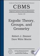 Ergodic Theory  Groups  and Geometry