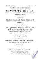 Remington Brothers  Newspaper Manual Book PDF