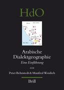 Arabische Dialektgeographie