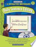 Interactive Learning  Daily Sentence Editing  Grade 3