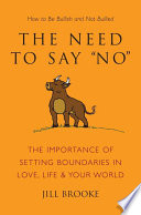The Need to Say No Book PDF