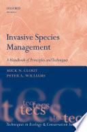 Invasive Species Management