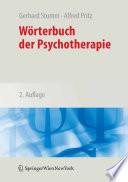 W  rterbuch der Psychotherapie