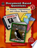 Document Based Questions for Reading Comprehension and Critical Thinking