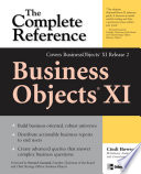 Businessobjects Xi Release 2 The Complete Reference