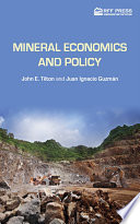 Mineral Economics and Policy