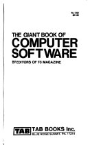 The Giant book of computer software