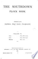 The Southdown Flock Book Book PDF