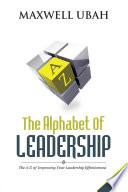 The Alphabet of Leadership