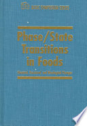 Phase State Transitions In Foods Chemical Structural And Rheological Changes book