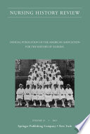 Nursing History Review Volume 21