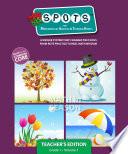 Spots For Math Teacher S Edition Grade 1 book