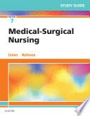 Study Guide For Medical Surgical Nursing E Book
