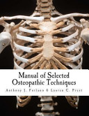 Manual of Selected Osteopathic Techniques