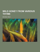Wild Honey from Various Thyme