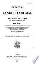 l  ments de la langue anglaise  ou  M  thode pratique pour apprendre facilement cette langue