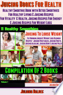 Best Juicing Books For Health  Healthy Smoothie Book