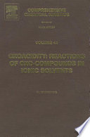 Oxoacidity Reactions Of Oxo Compounds In Ionic Solvents book