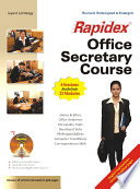 Set-Rapidex Office Secretary Course